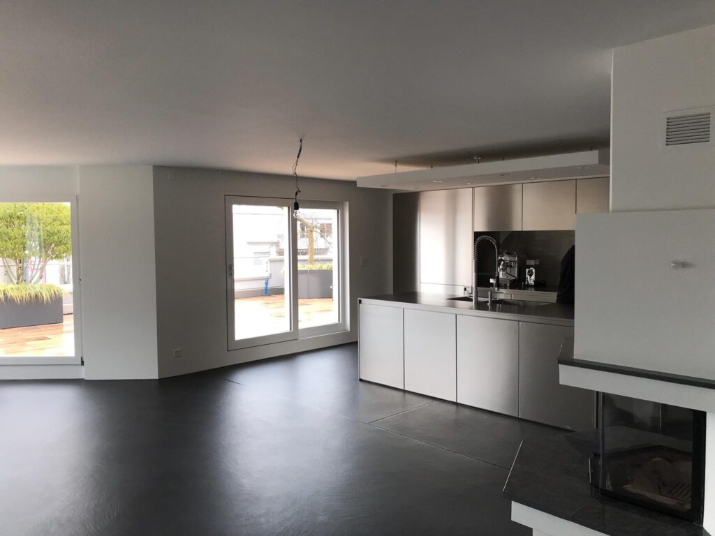 Freienbach: Umbau private Terrassenwohnung